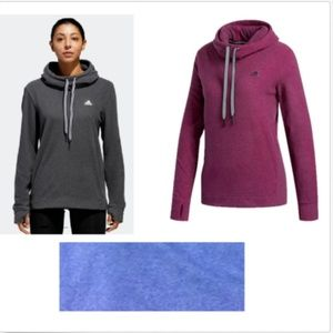 Adidas Women's Fleece Hooded Sweatshirt